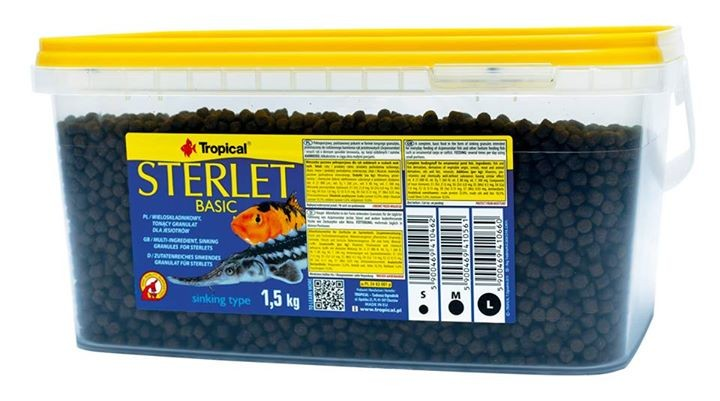 Tropical Sterlet Basic 1 5kg