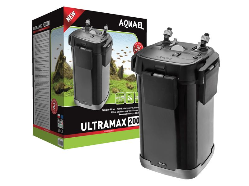 AQUAEL ULTRAMAX 2000 EXTERNAL FILTER €189.99